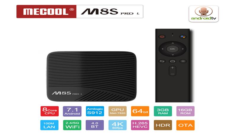 Mecool M8S PRO L 4K TV Box Amlogic S912 - The Simplicity Post