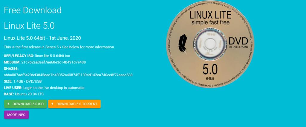 Download Linux Lite