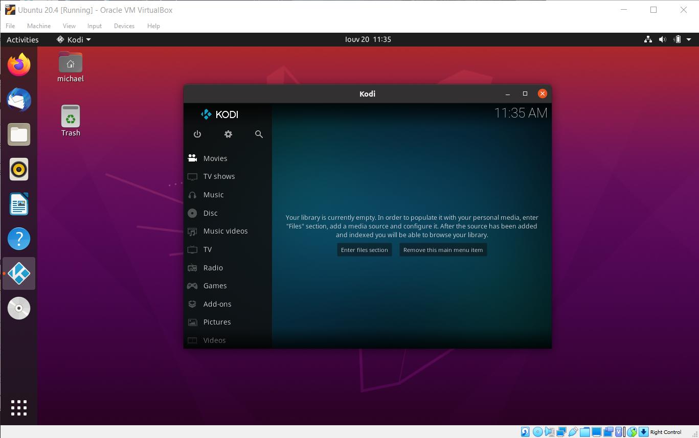 Ubuntu kodi