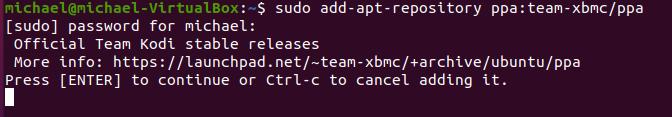 Ubuntu kodi 5
