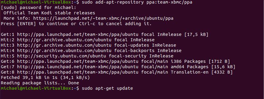 Ubuntu kodi 7